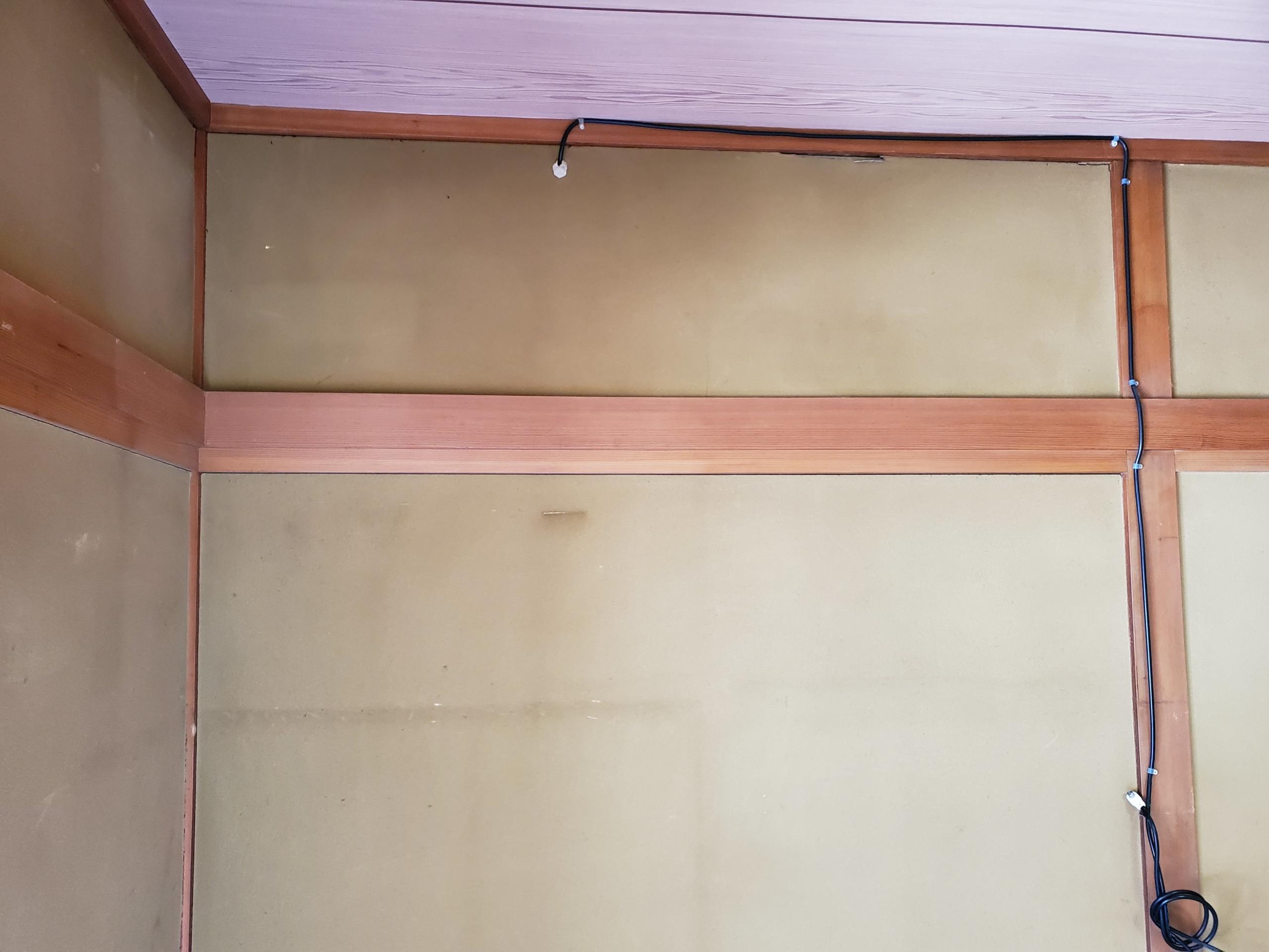プチリフォーム 和室の砂壁にクロスを貼る方法 Diyで出来る簡単な